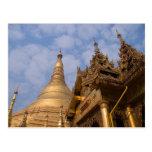 Shwedagon Paya PICT3895 Postcard