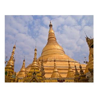 Shwedagon Paya Postcard