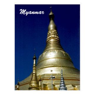 shwedagon post cards