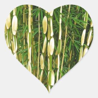 Shweeash Bamboo 2 Heart Sticker