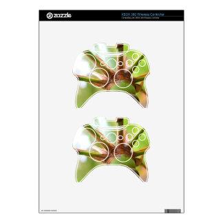 Shweeash Bamboo Close Up Xbox 360 Controller Decal