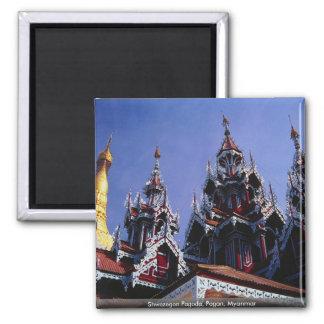 Shwezegon Pagoda, Pagan, Myanmar Magnets