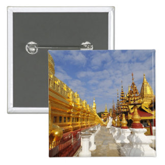 Shwezigon Pagoda complex in Bagan (Pagan), Pinback Button