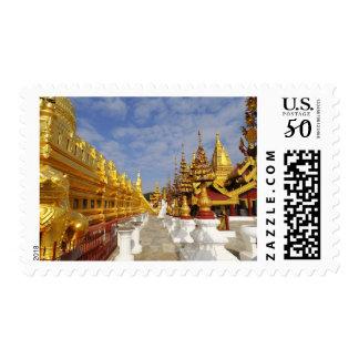 Shwezigon Pagoda complex in Bagan (Pagan), Postage