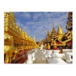 Shwezigon Pagoda complex in Bagan (Pagan), Post Card