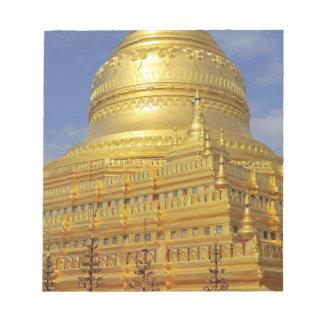Shwezigon Pagoda in Bagan, Bagan (Pagan), 2 Notepad