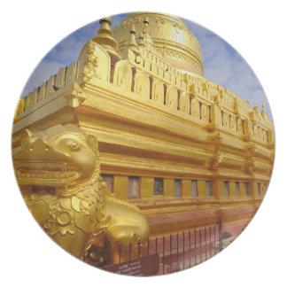 Shwezigon Pagoda in Bagan, Bagan (Pagan), Dinner Plate