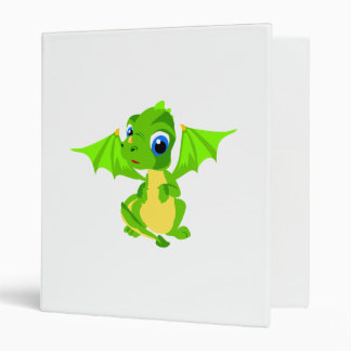 Shy Baby Dragon Binder