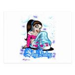 Shy Baby Postcards