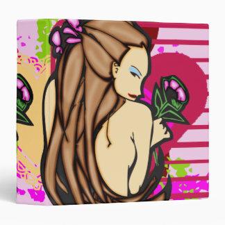 Shy Beauty Avery Binder
