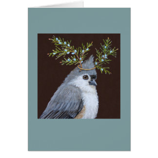 Shy but Sly greeting card