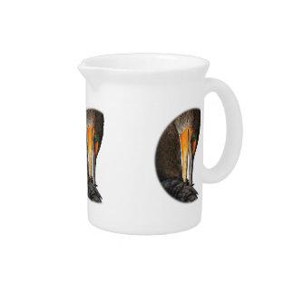 Shy Cormorant Drink Pitcher