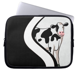 Shy Cow Computer Sleeve