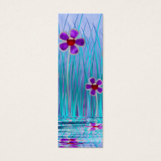 Shy Daisies Bookmarks Mini Business Card