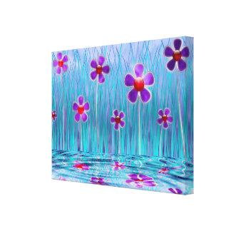 Shy Daisies Canvas Print
