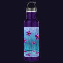Shy Daisies Water Bottle
