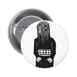 Shy girl pins