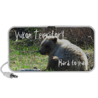 Shy Grizzly; Yukon Territory Souvenir Travelling Speakers