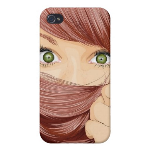 shy iPhone 4/4S cover