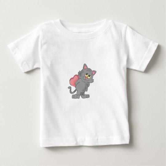 Shy Kitty Baby T-Shirt