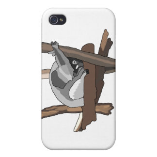 Shy Koala Cases For iPhone 4