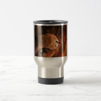 Shy Lion Paw Animal Travel Mug