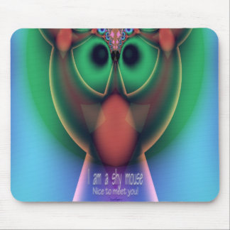 Shy Mouse Mouse Pad
