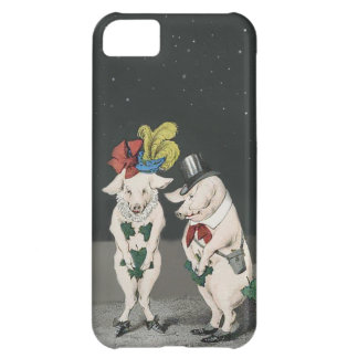 Shy Pigs on a Starry Night Cover For iPhone 5C