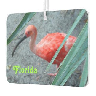 Shy Scarlet Ibis Air Freshener
