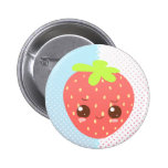 Shy Strawberry Pin