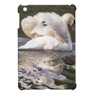 Shy Swan Cover For The iPad Mini