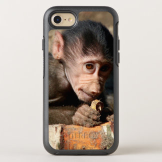 Shy Young Male Hamadryas Baboon (Papio) OtterBox Symmetry iPhone 7 Case