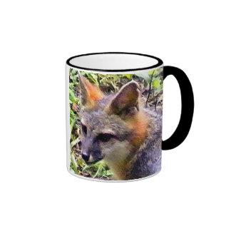 Shyanne el Fox de la madre Taza De Dos Colores