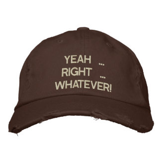 Sí a la derecha lo que bordó el gorra gorras de beisbol bordadas