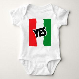 Sí a los italianos body para bebé