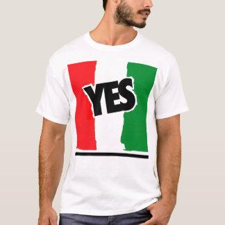 Sí a los italianos playera