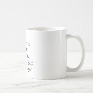 Sí a mí es ése importante ser el mejor Tenn Taza De Café