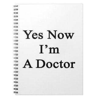 Sí ahora soy doctor libros de apuntes