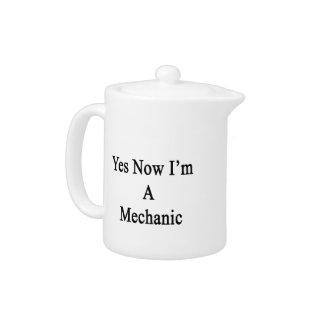 Sí ahora soy mecánico
