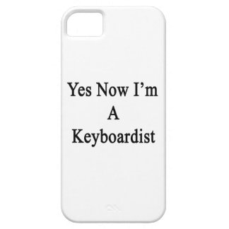 Sí ahora soy teclista iPhone 5 protectores