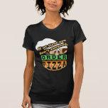Si al principio usted no tenga éxito la pizza de camisetas