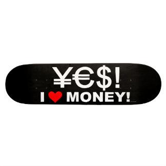 ¡Sí ¡Amo el dinero Monopatines