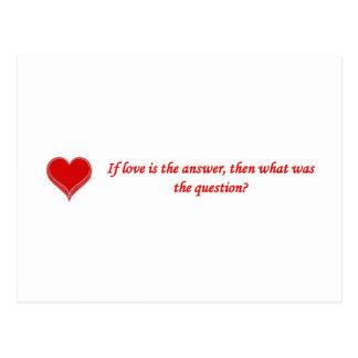 si-amor-ser--respuesta-entonces-qué-ser--pregunta tarjetas postales
