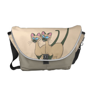 Si and Am Standing Messenger Bags