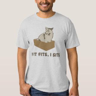 Si cabe, I sienta el gato Playeras