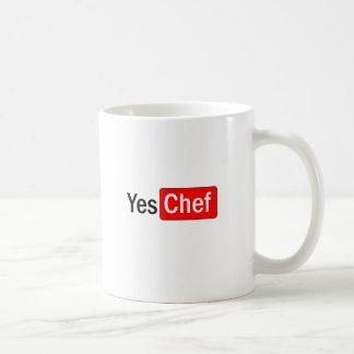 Sí cocinero taza de café