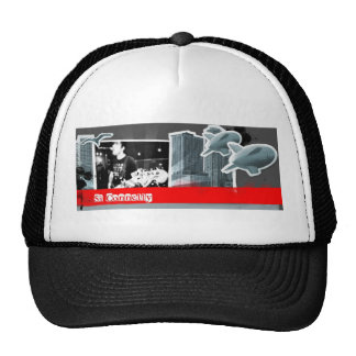 Si Connelly Cap Black Trucker Hat