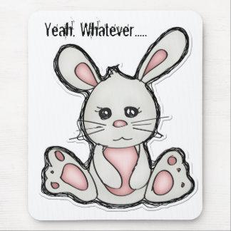 Sí, cualquier conejito para el ratón alfombrilla de ratón