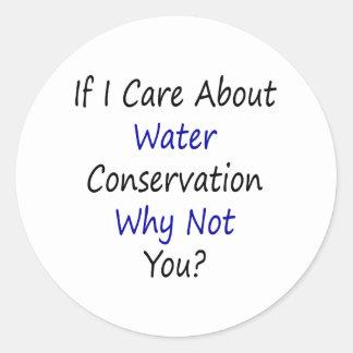 Si cuido sobre la protección de agua porqué no ust etiquetas redondas