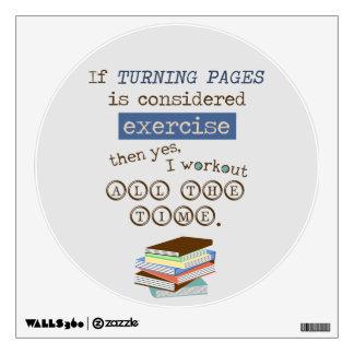 Si da vuelta a las páginas se considera ejercicio